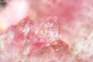Cuarzo rosada estilizado