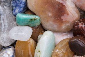 Varios tipos de minerales