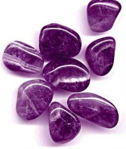 piedra de cuarzo amatista