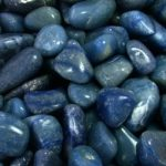 piedras de cuarzo azul