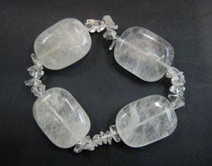pulsera cristal de roca