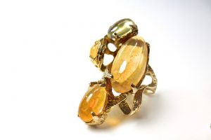 anillo turmalina