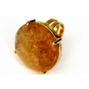 anillo de cuarzo - joyeria