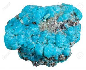 piedra azul en bruto