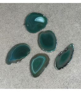 agata verde con tonalidades