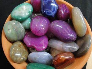 tipos de colores de agata