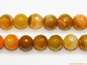 bolas de agata de color amarillo