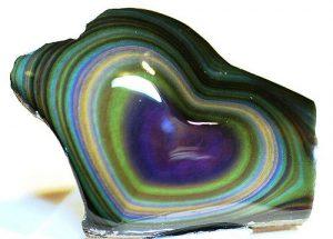 obsidiana multicolor