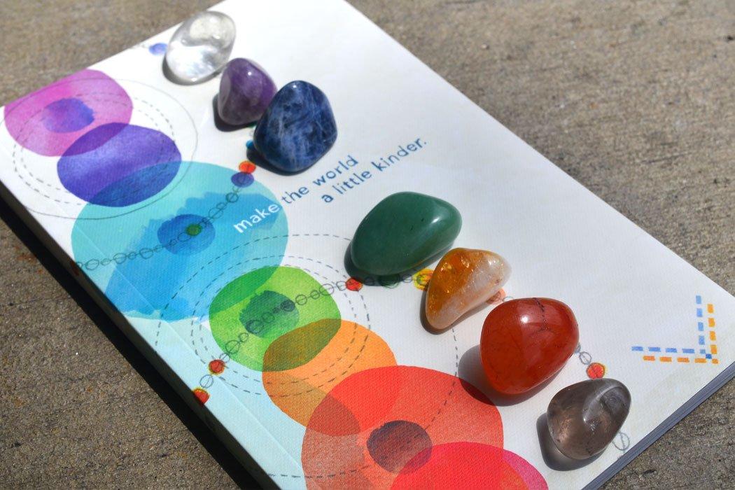Red de Cristales para la Limpieza de los Chakras