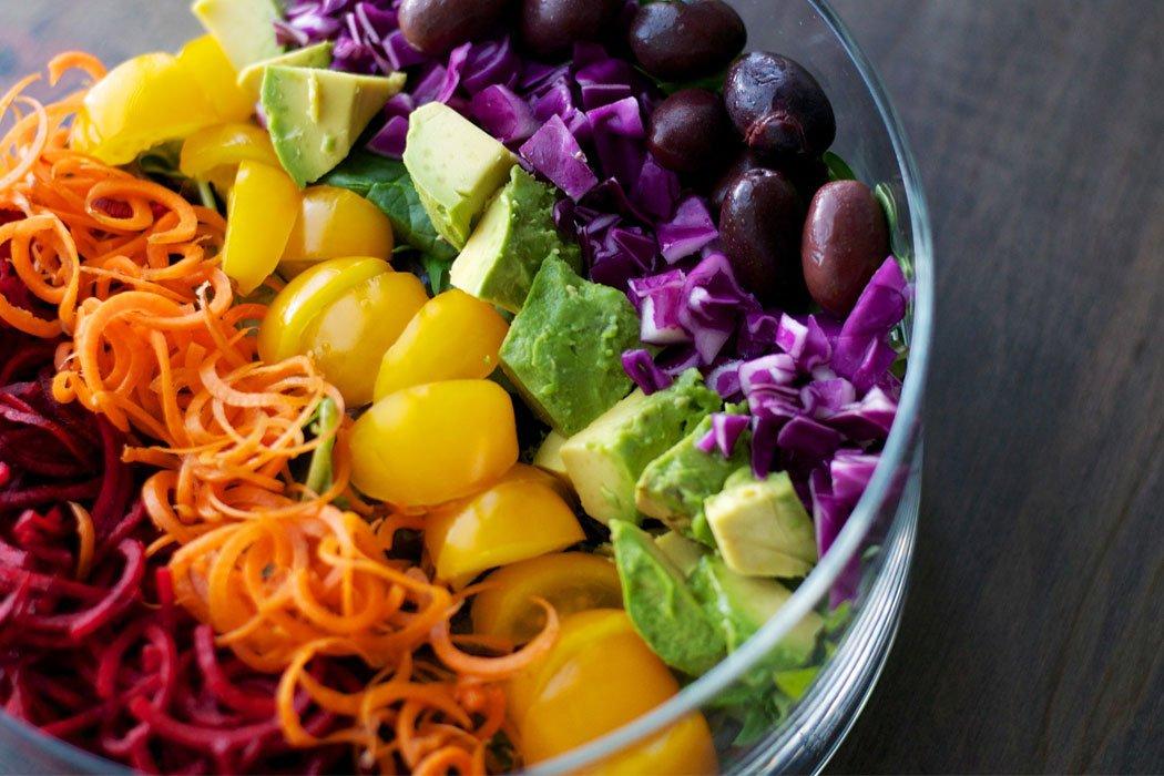 Equilibrar los Chakras con los Alimentos Arcoiris