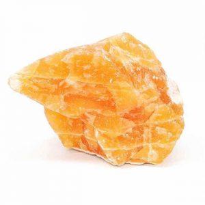 calcita de color naranja