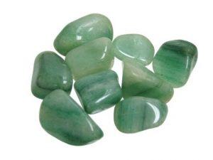 piedra de fluorita verde