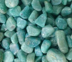 piedra amazonita pulida