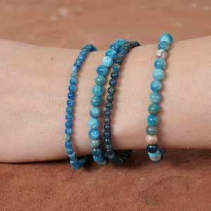 pulsera de apatita azul