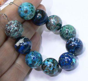 pulsera de malaquita azul