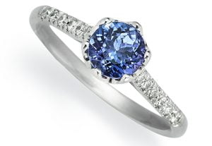 anillo de piedra tanzanita