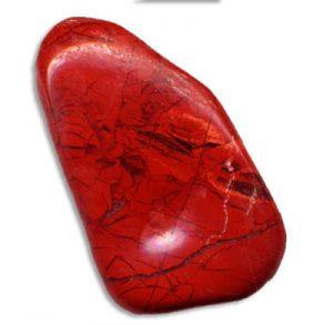 jade de color rojo