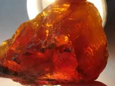piedra en bruto de blenda