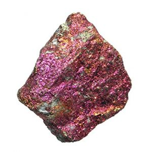 calcopirita de color rosa