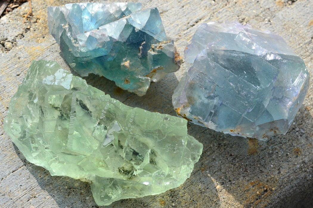 Colocar un cristal de fluorita en su hogar