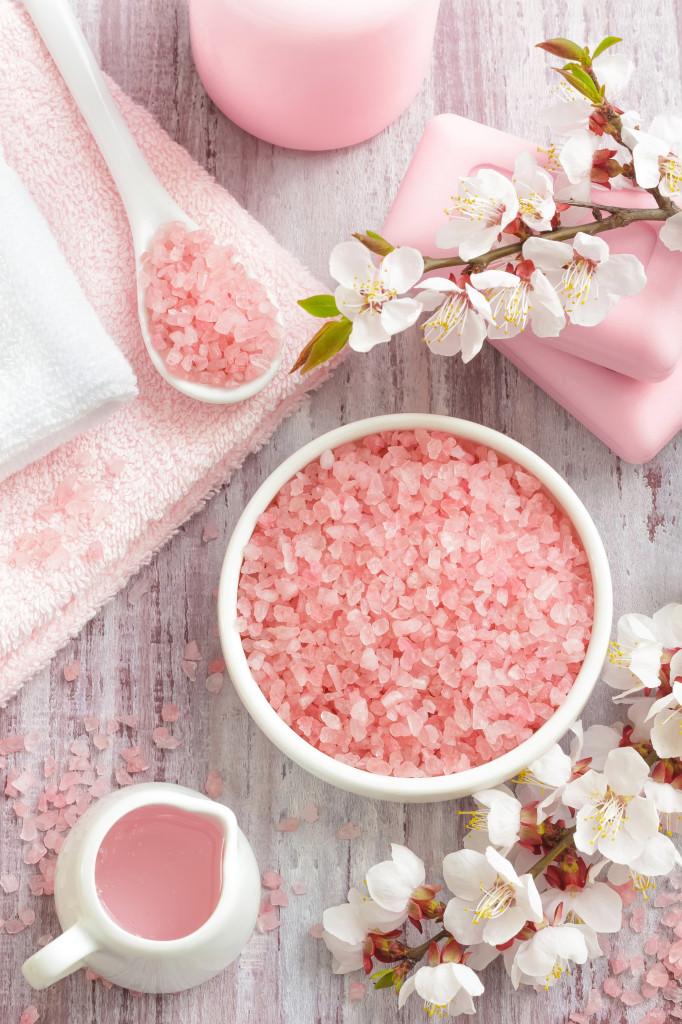 beneficios del baño de sal de himalayan