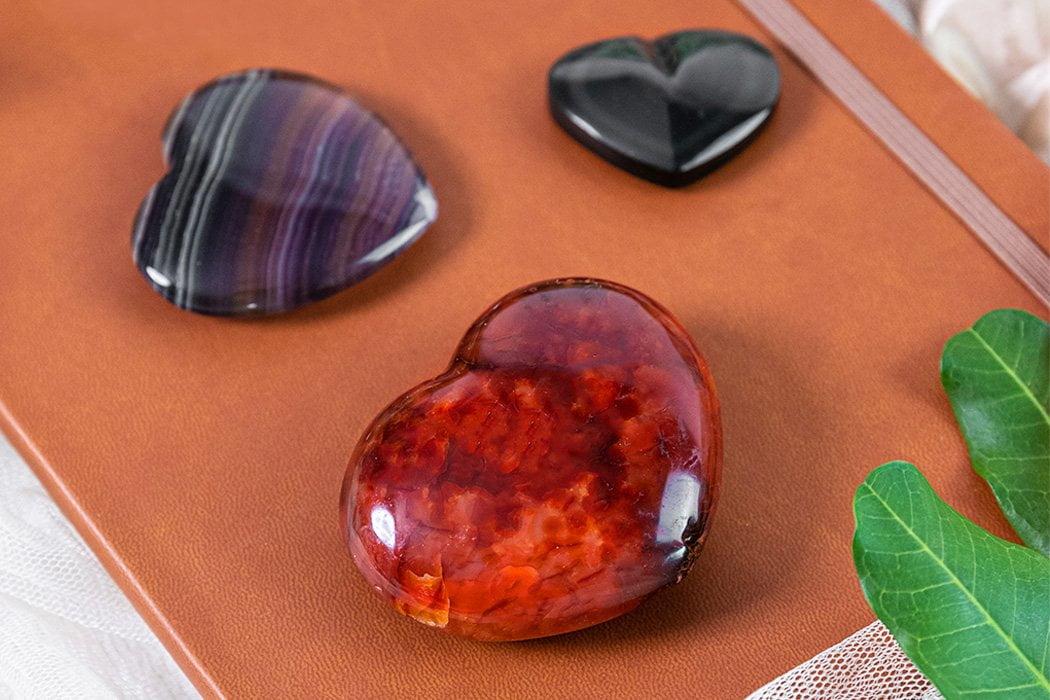 6 formas de trabajar con un corazón de cristal